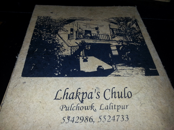 Lakpa's Chulo Restaurant/Home I grew up in
