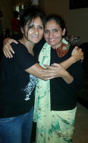 Meeting in Denton with Radha Paudel